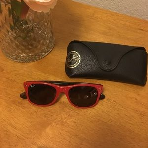 Authentic Red Ray-bans